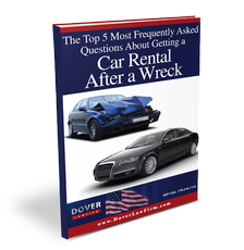 The Top 5 Most Frequently Asked Questions about Getting a Car Rental after a Wreck
